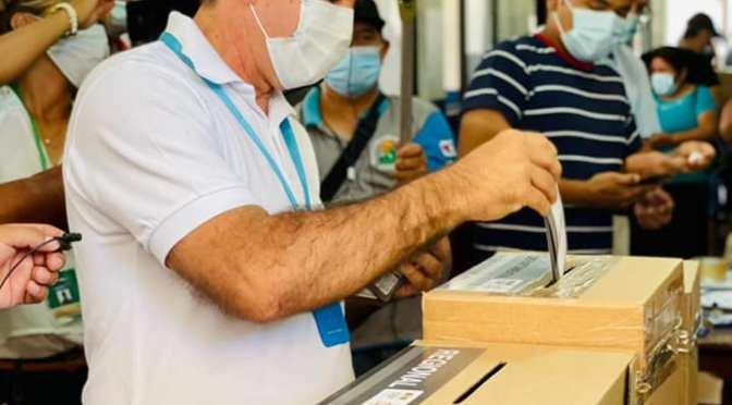Candidatos destacan asistencia de electores y la primera elección regional del Chaco