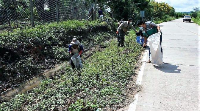 Se realiza campaña de limpieza de residuos en Aguayrenda como aporte al medio ambiente