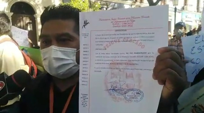 Barrio 26 de agosto exige respeto a su planimetría, tras conflicto por tierras