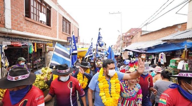 Mientras denuncian a Montes, Ruiz suma apoyo DE  varios sectores
