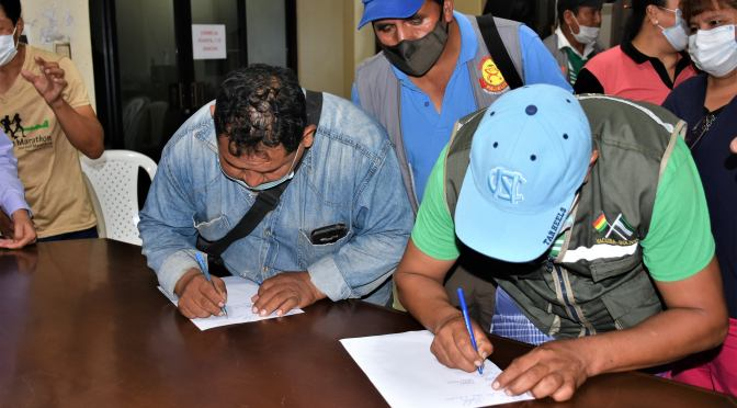 Pese a acta de desalojo de vendedores callejeros, la vigilia de San Gerónimo persiste