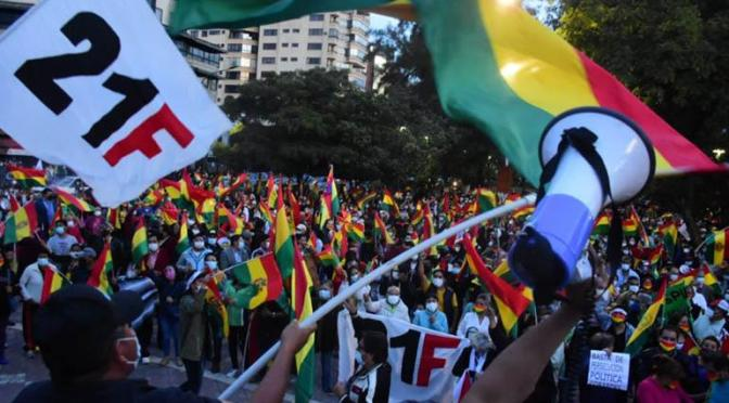 Juventudes del MAS se declaran en emergencia por protestas contra aprehensiones