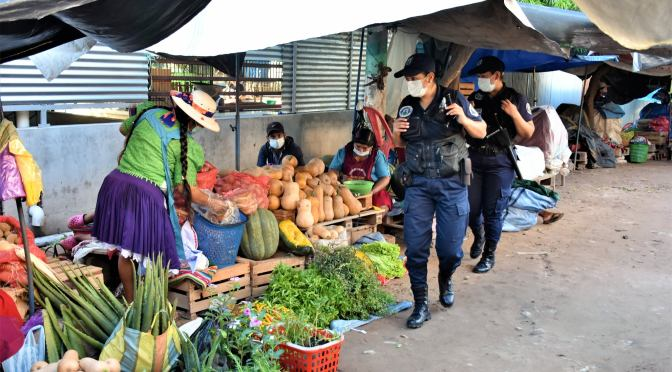 Yacuiba: Alcaldía desmiente denuncia de maltrato físico en reubicación de ambulantes