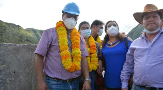 Arce entrega infraestructura productiva en San Lorenzo