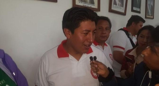 Pumari pide a Tarija «no votar por el MAS»