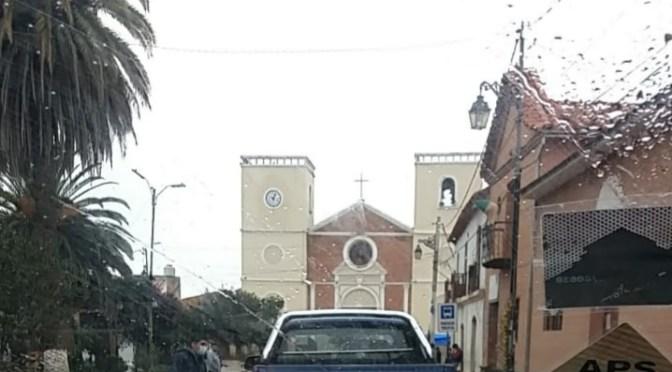 Denuncian presunto acarreo de votantes en el vehículo oficial del alcalde de San Lorenzo