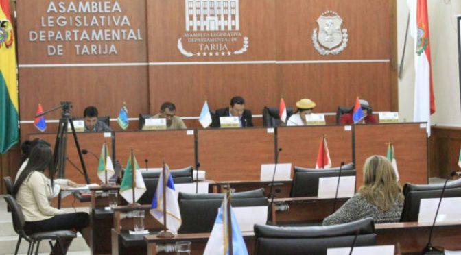 Asamblea Departamental inicia proceso de transición