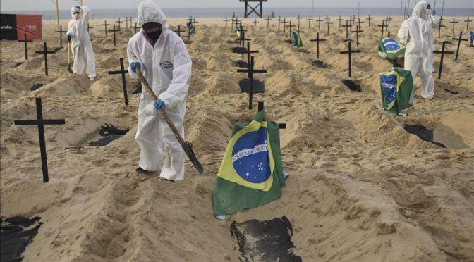 Brasil sufre más de 4.000 muertes en un día, a causa del Covid