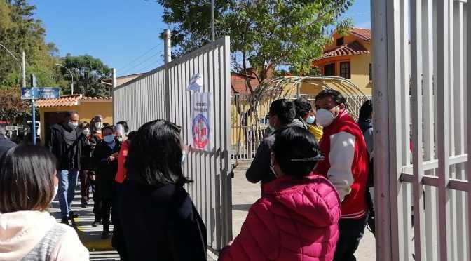"""Defensoría del Pueblo identifica """"privilegiados"""" en vacunación contra el covid 19 en Tarija"""