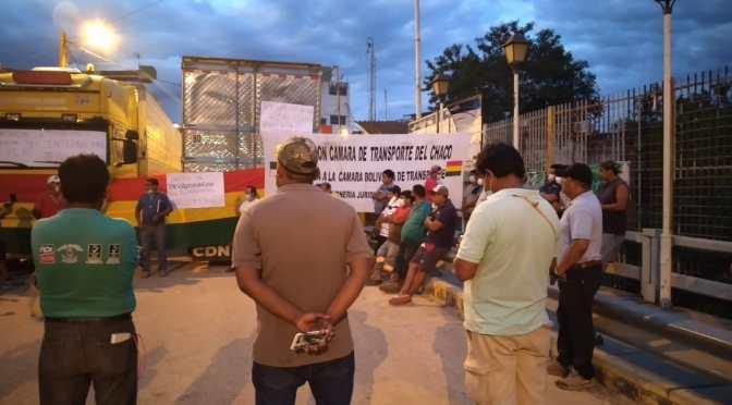 """Aportantes a las AFP suspenden bloqueo y se suman a la """"Frontera del sur"""""""