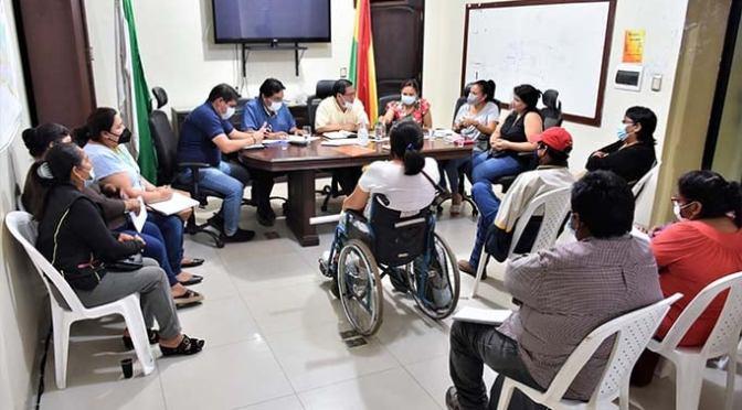 Personas con discapacidad piden terrenos en Yacuiba para construir casas