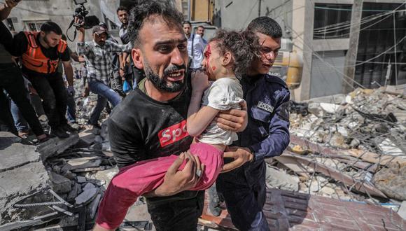 40 muertos, 8 de ellos niños, tras intenso bombardeo israelí esta madrugada