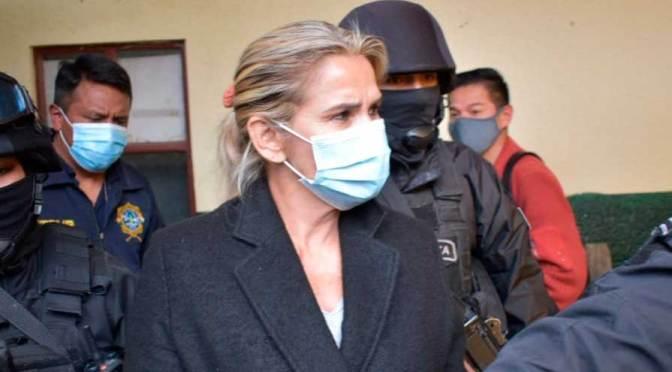 Juez declara infundado el pedido de Añez para salir de la cárcel y ratifica detención preventiva