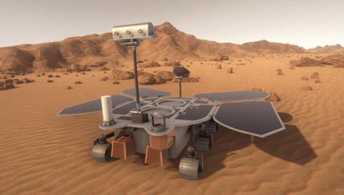 China logra posar un robot explorador en la superficie de Marte