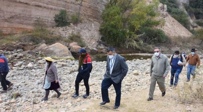 Concejo Municipal evidencia daños en el río Santa Ana por la extracción de áridos