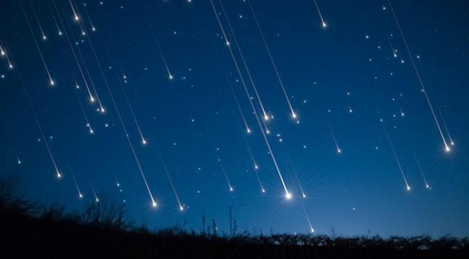 Observatorio anuncia lluvia de meteoros en junio
