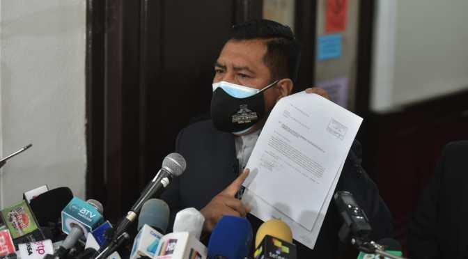 Presidente de Diputados envía nota de reclamo al Papa por 'mentiras' de la Iglesia en Bolivia