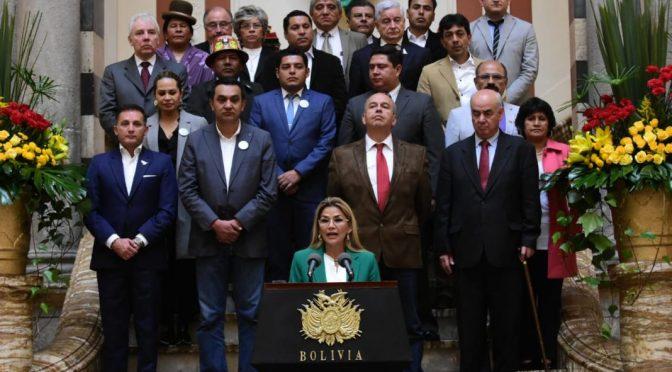El poder detrás de Áñez eran sus excolegas Murillo, Ortiz, Núñez, Coímbra y Guzmán