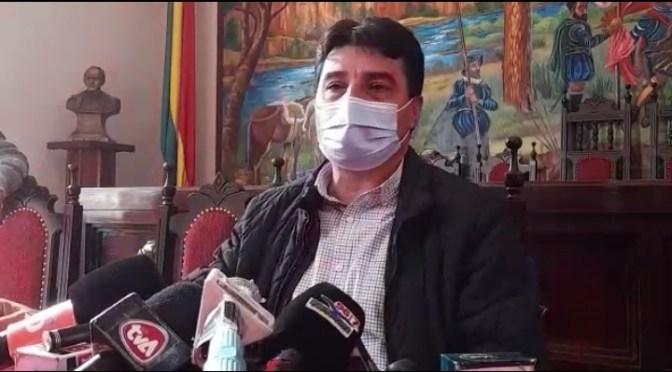 Torres dice que Tarija entró en una meseta de contagios y no hay disponibilidad de vacunas
