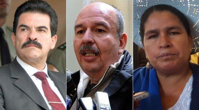 Aprueban informes para juicios de responsabilidades que incluyen a Manfred, Murillo, Leonilda Zurita