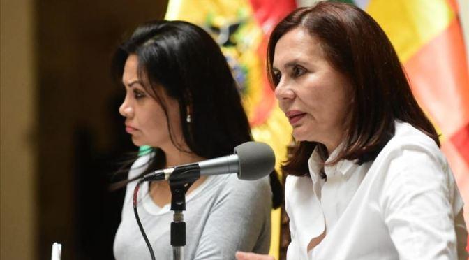 Exministras se revelan y culpan a Jeanine Áñez