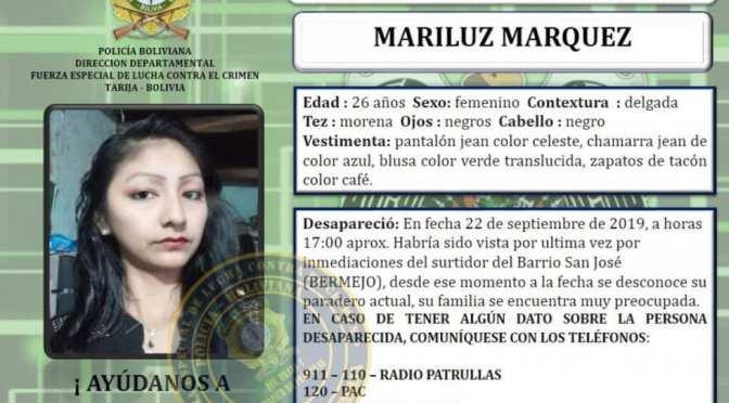 Fiscalía activa caso de Mariluz Márquez como feminicidio, se sospecha en su ex pareja