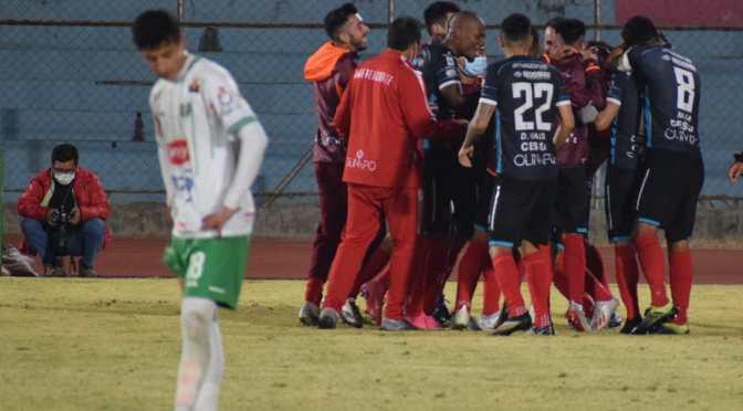 Real Tomayapo perdió ante Independiente de Sucre en la vuelta del fútbol profesional