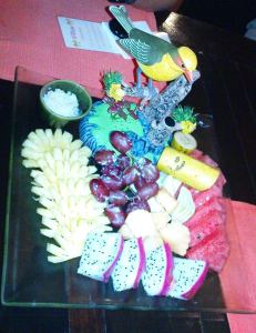 Lae Lay Grill fruits