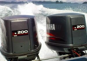 outboard in krabi