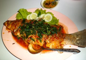 giller fish Thai style