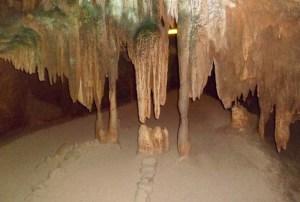 stalactite wall