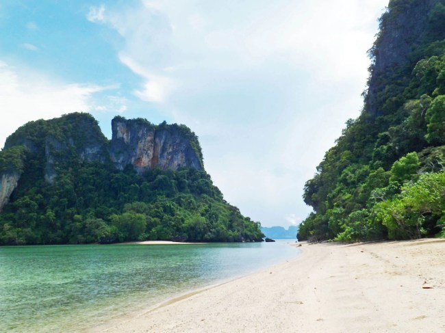 beautiful beach on the Andaman Sea