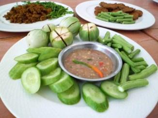 side dish at Phu Nga Baan Khanom