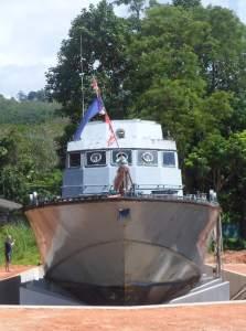 police boat 813 in Khao Lak