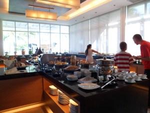breakfast at andaman cafe