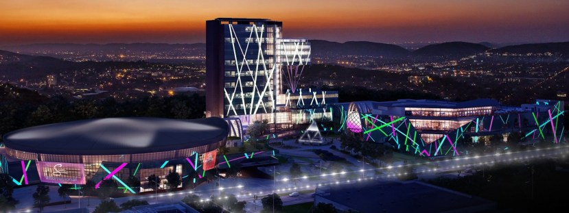 Times square Casino and Arena accommodation