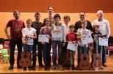 III Encuentro Guitarra Suzuki - Entrega de diplomas del encuentro