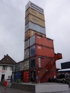 Freitag konteineru tornis