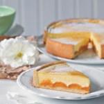 Marhuľový koláč s vanilkovou náplňou - recept
