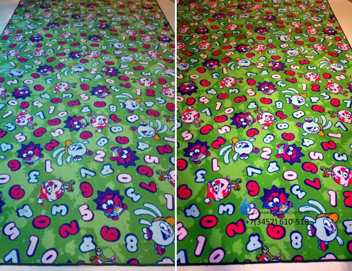 экочистка ковар в детской комнате