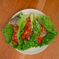 Butter Lettuce Tacos with Chuck Roast