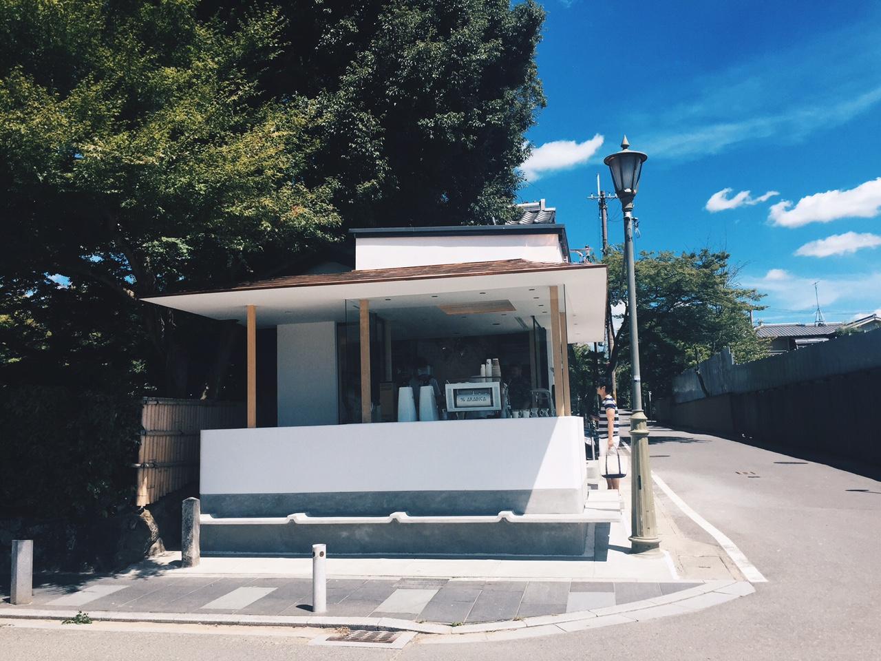 2017年7月の人気カフェ&コーヒースタンド 5位:アラビカ京都 嵐山