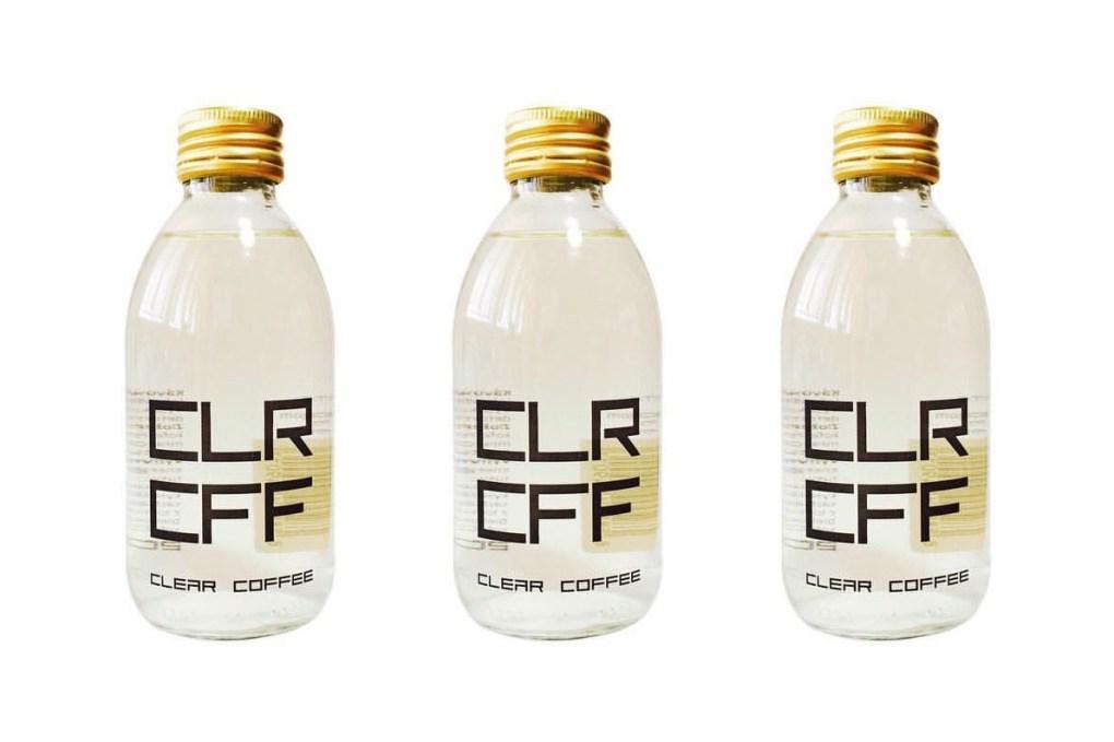 世界初の透明なコーヒー CLR CFF