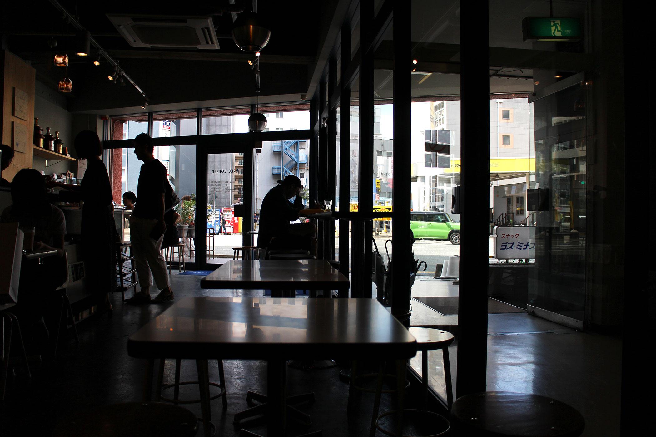 2017年9月に追加したショップ REC COFFEE 薬院駅前店
