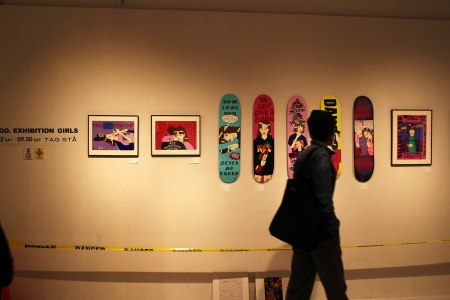 イラストレーターYUGO.による新作個展「YUGO. exhibition GIRLS」 TAG STA 福岡・春吉