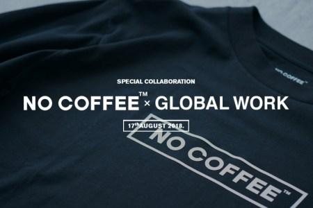 NO COFFEEとGLOBAL WORKが初コラボ!発売初日には記念イベントも