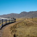 Inca route on the train