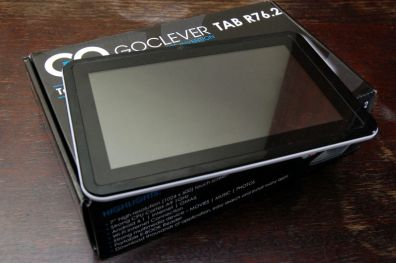 GoClever Tab R76.2 po wyjęciu z pudełka