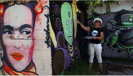Frida Kahlo mural, St. Petersburg Florida, Visit Florida, Photo by Bill Serne for VISIT FLORIDA