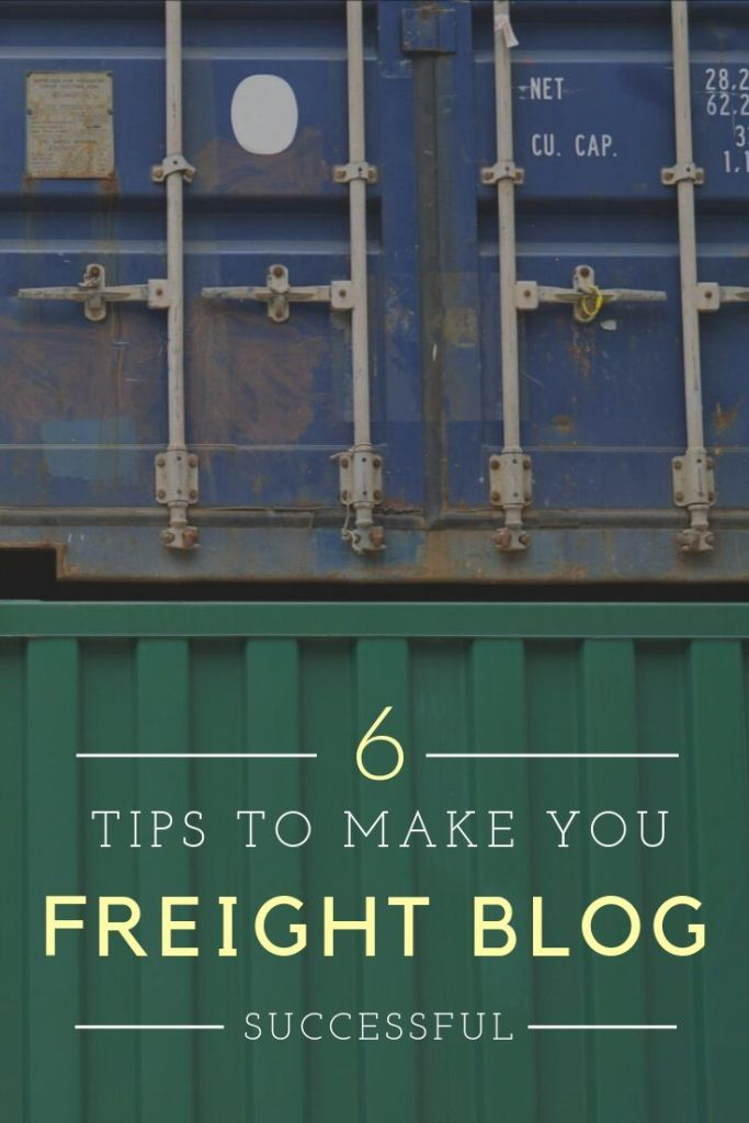 Get help with your content marketing. #freightblog #contentwriter #freelancewriter #logisticsblogging
